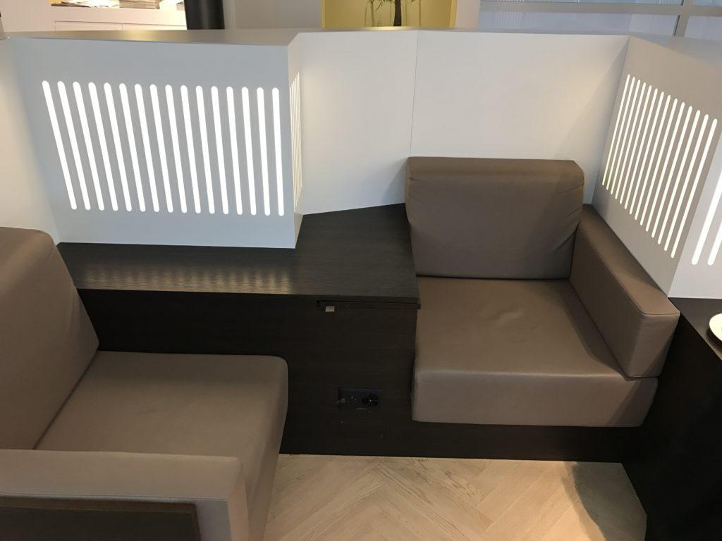 Aspire Lounge Zürich Sessel
