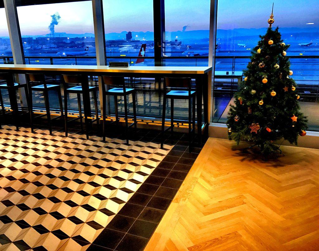 Aspire Lounge Zürich Sitztresen
