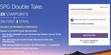 SPG Double Take Promotion