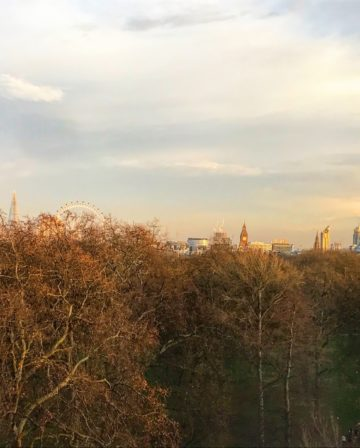 Sheraton Grand London Park Lane Ausblick