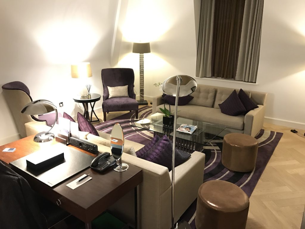 Sheraton Grand London Park Lane Park Suite