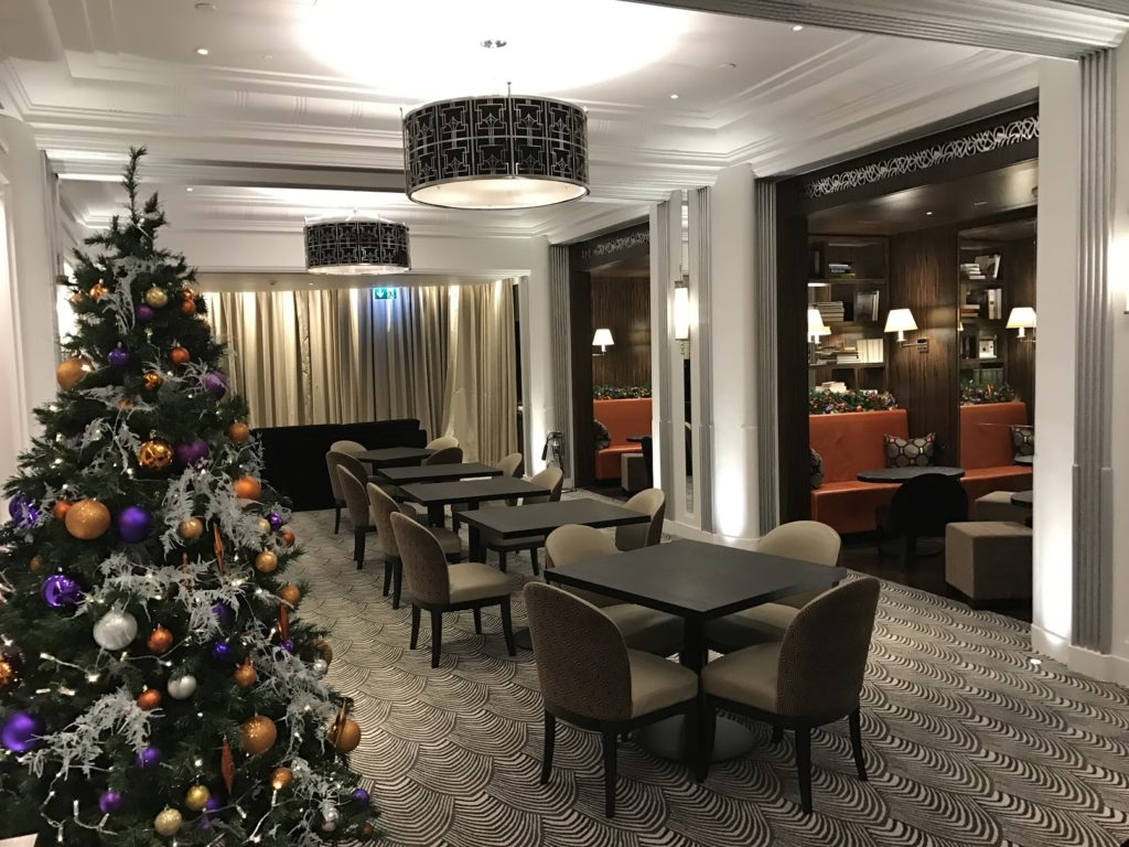 Sheraton Grand London Park Lane Club Lounge