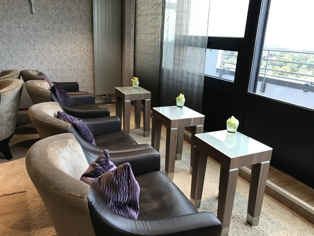 Sheraton München Arabellapark Club Lounge