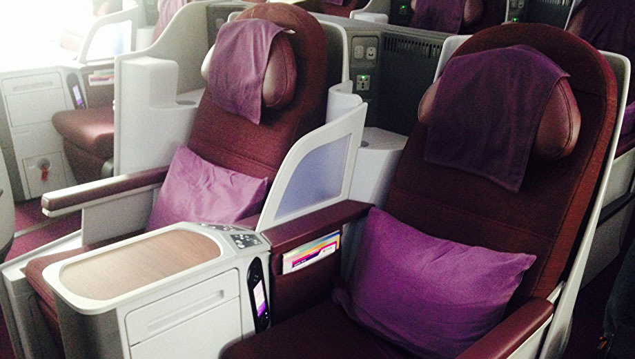 Thai Boeing 787 Business Class nach Australien