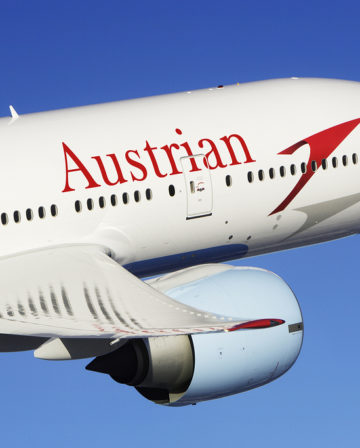 Austrian Airlines Business Class nach Hongkong