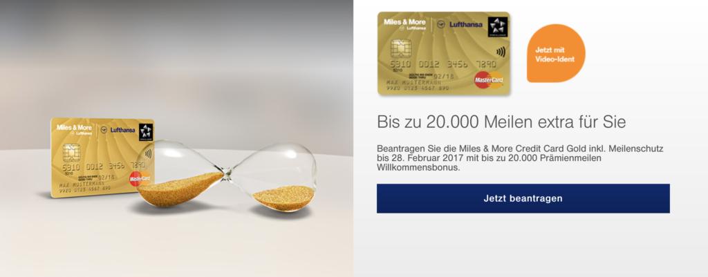 Lufthansa Miles and More Meilen sammeln