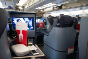 airberlin Business Class Kabine