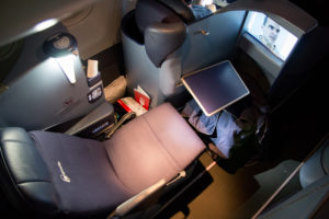 airberlin Business Class Sitz
