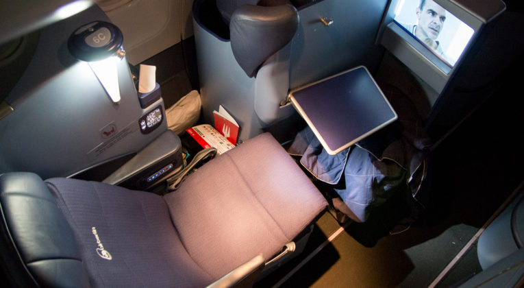 airberlin Business Class Sitz