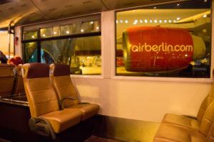 airberlin Business Class Bus Service