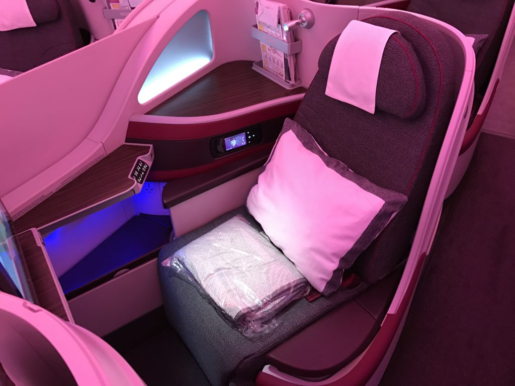 InsideFlyer Wochenrückblick Qatar Airways Business Class
