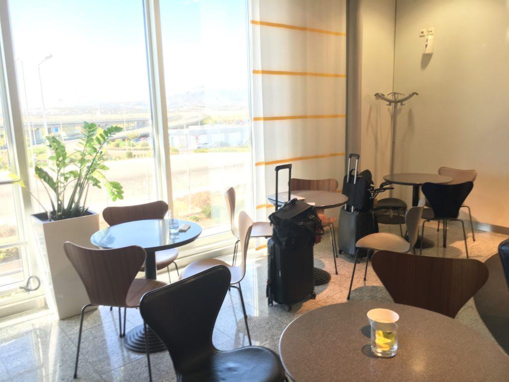 Lufthansa Lounge Athen Bistrobereich