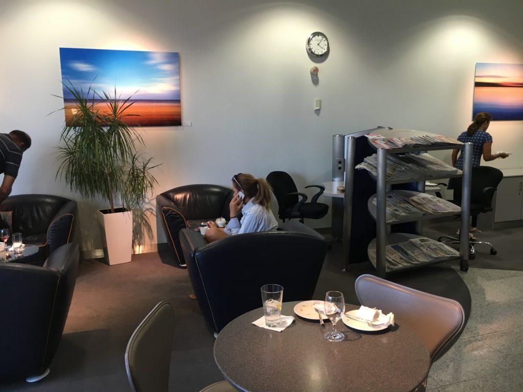 Lufthansa Lounge Athen Sessel