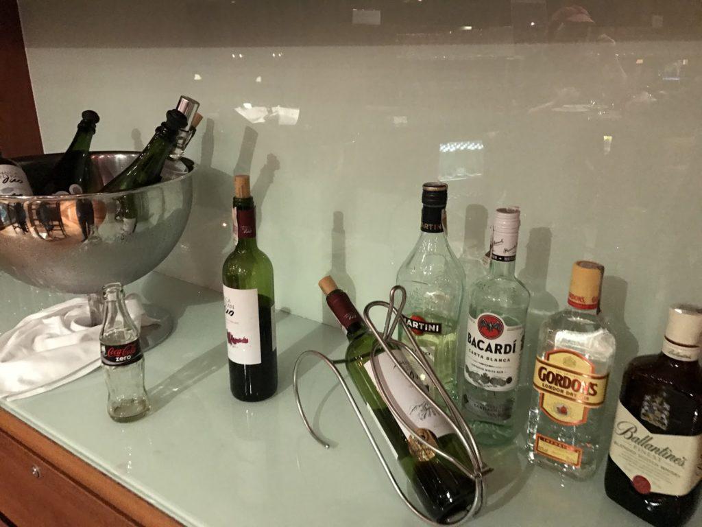Sheraton Sopot Club Lounge Getränke