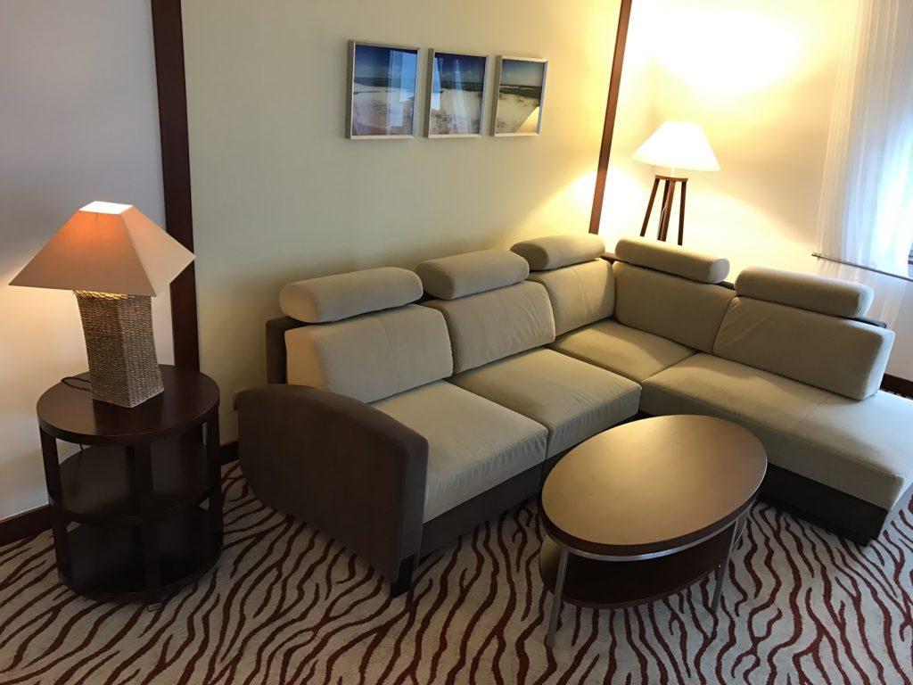 Sheraton Sopot Executive Suite Wohnzimmer