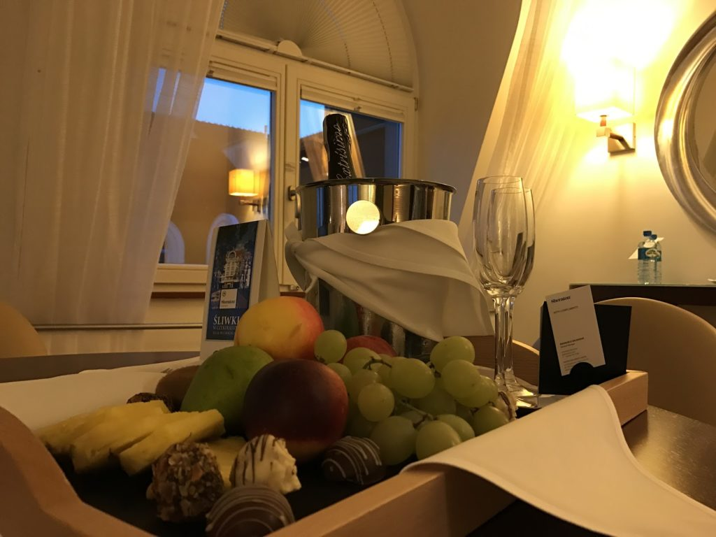 Sheraton Sopot Welcome Treatment