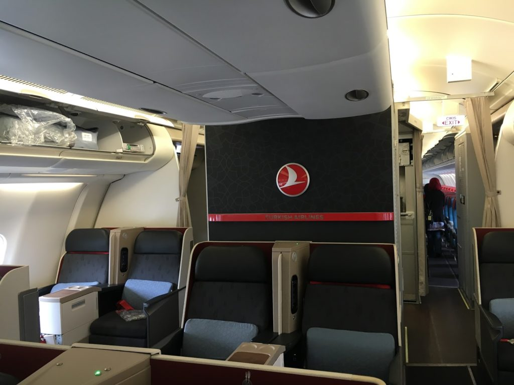Turkish Airlines Business Class A330 Kabine
