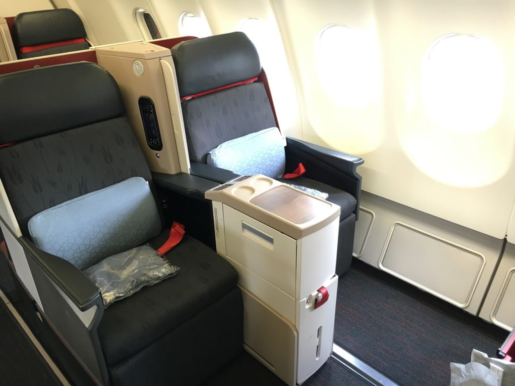 Turkish Airlines Business Class A330_Sitz