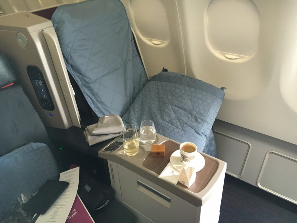 Turkish Airlines Business Class Turn Down Service