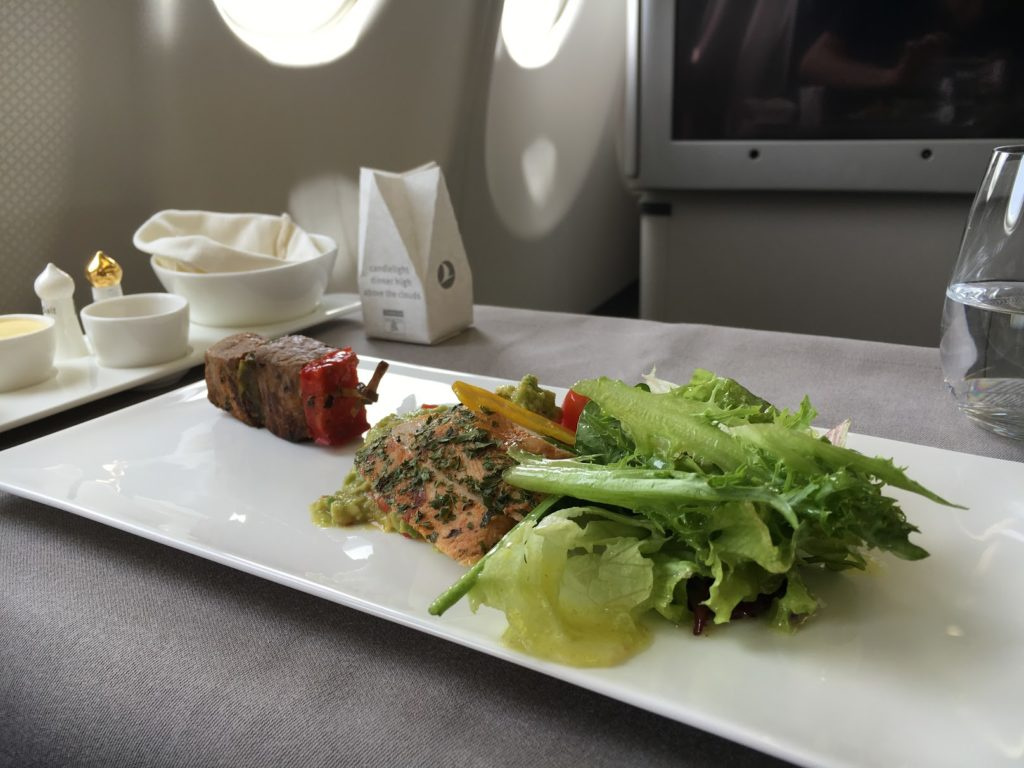 Turkish Airlines Business Class Vorspeise