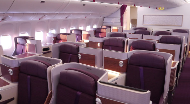 Thai Business Class nach Australien