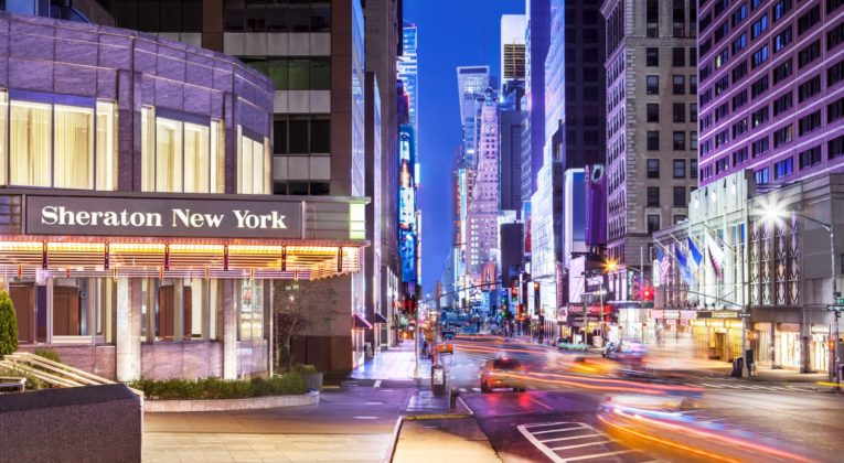SPG Hot Escapes Sheraton New York Times Square