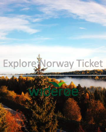 Wideroe Explore Norway Ticket