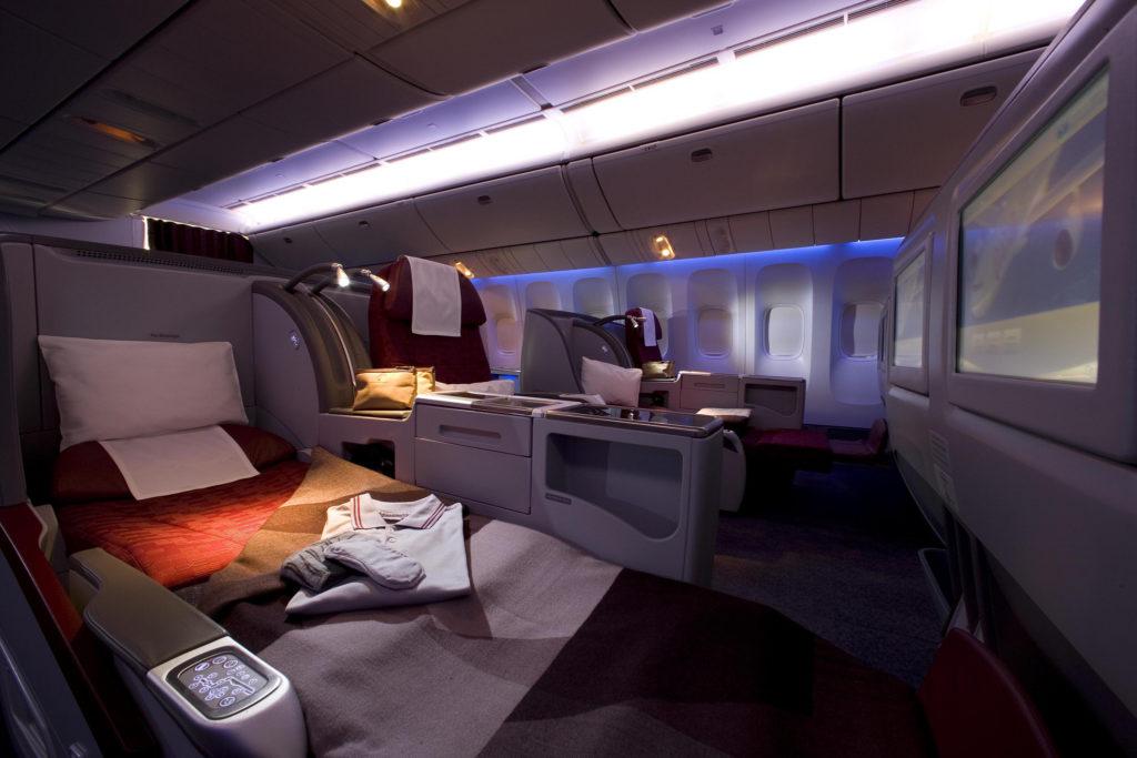Qatar Airways Business Class nach Neuseeland fliegen