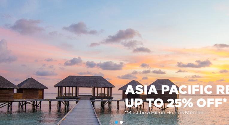 Hilton Asien Sale InsideFlyer Wochenrückblick