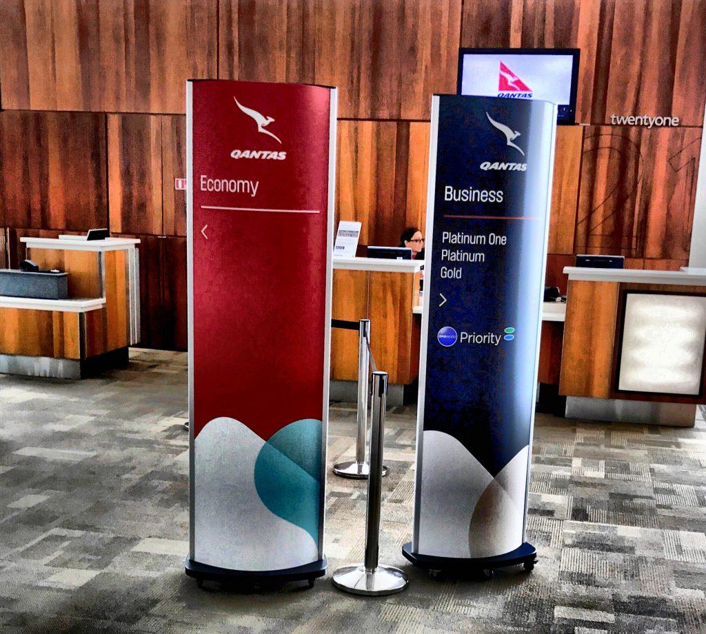 Qantas Economy Class Check In