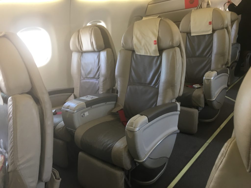 Royal Jordanian Business Class Embraer 195