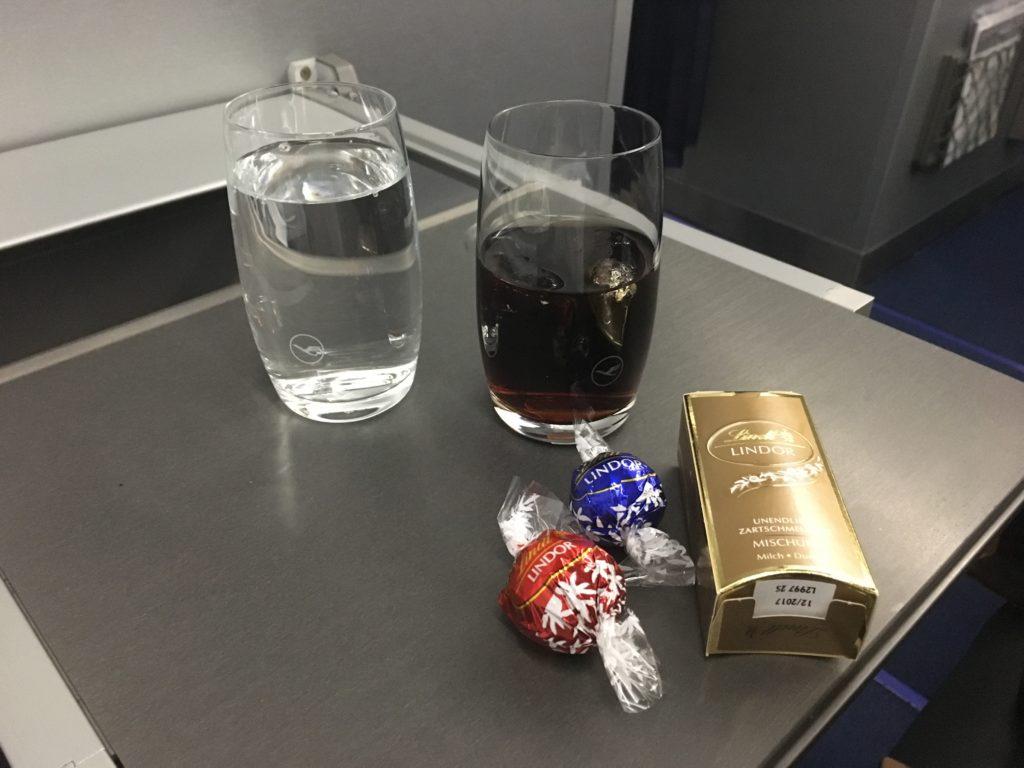 Lufthansa Business Class Getränke