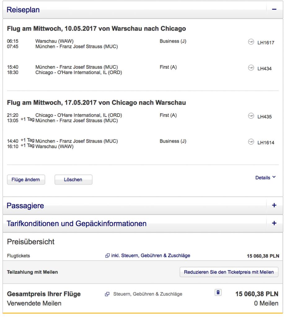 Miles & More Statusmeilen mit Lufthansa sammeln