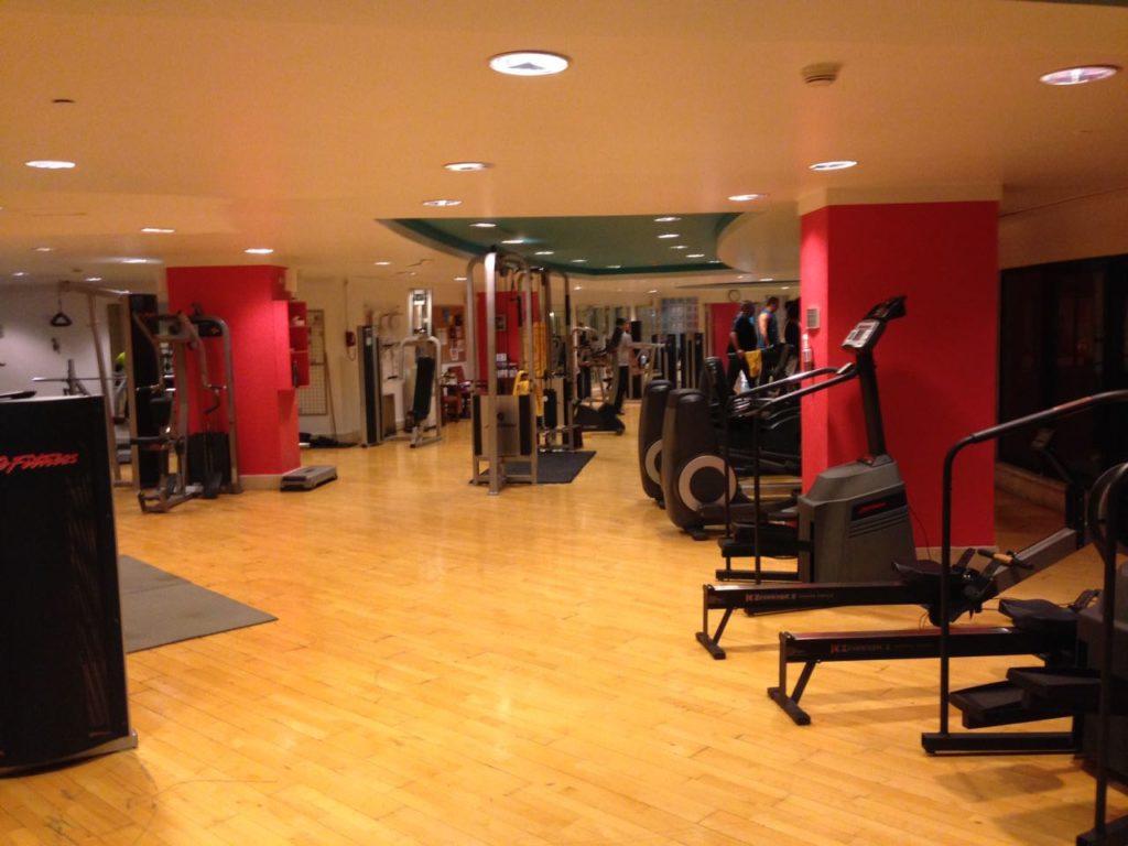 Le Méridien Amman Fitnessstudio