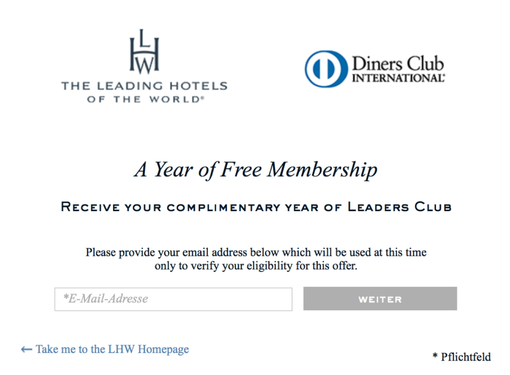Leaders Club Status kostenlos erhalten