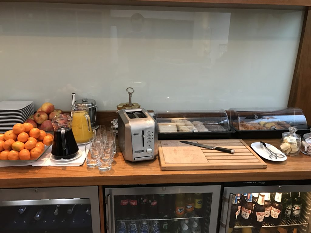 Sheraton Grand Krakow Club Lounge Frühstück