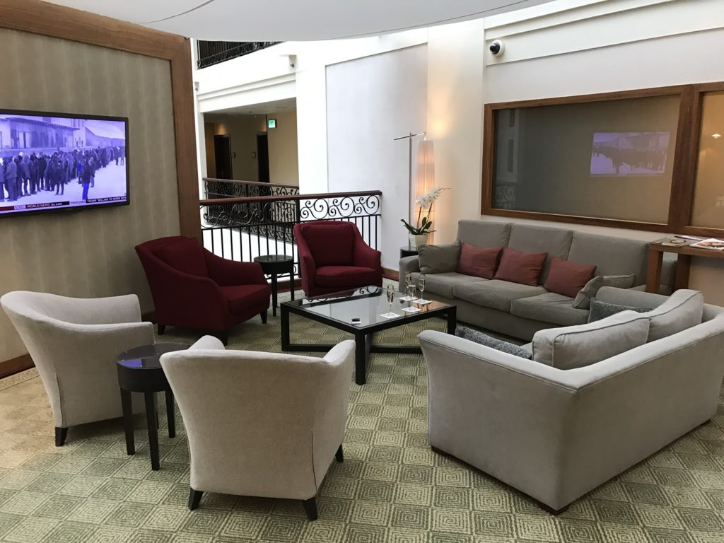 Sheraton Grand Krakow Club Lounge