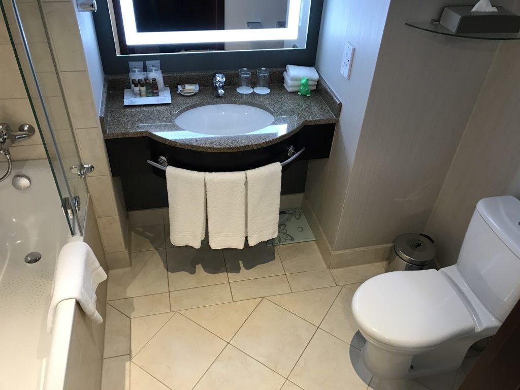 Sheraton Grand Krakow Deluxe Suite Badezimmer