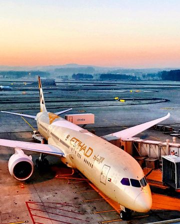 Etihad Airways business class nach Asien fliegen