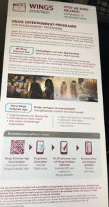 Eurowings Smart Entertainment