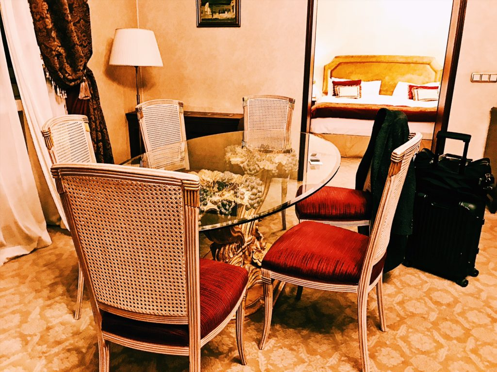 Sofia Hotel Balkan A Luxury Collection Hotel Executive Suite Wohnzimmer