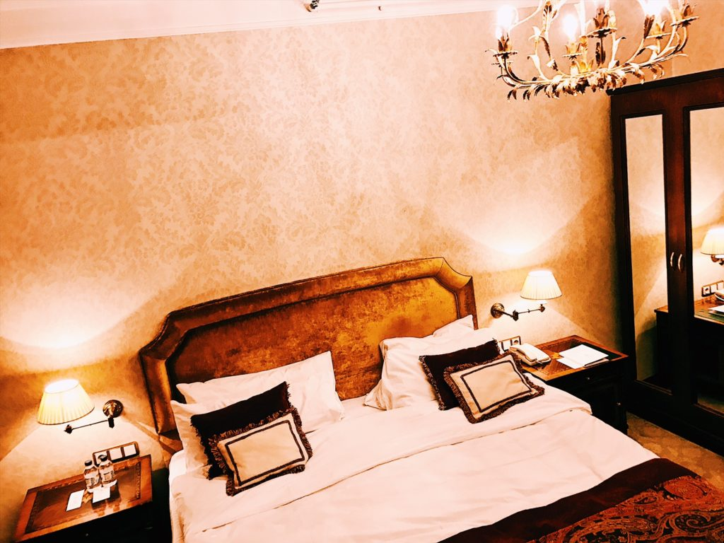 Sofia Hotel Balkan A Luxury Collection Hotel Executive Suite Schlafzimmer