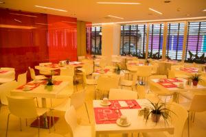 Fresh Hotel Athens Frühstücksraum