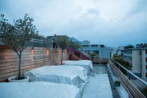 Fresh Hotel Athens Dachterrasse