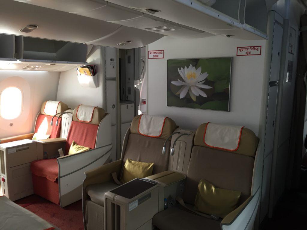 Air India Business Class Kabine