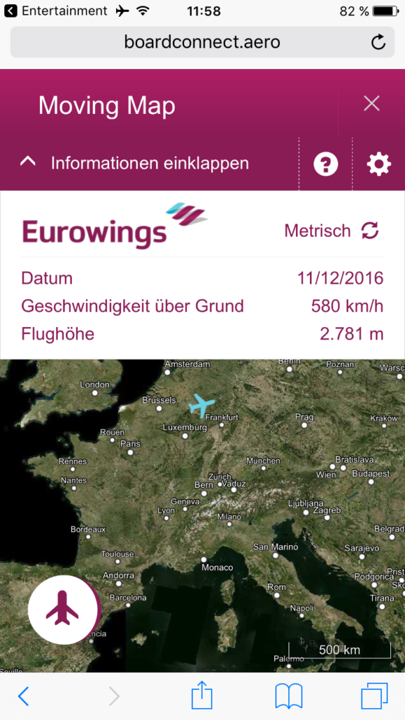 Eurowings Smart Entertainment