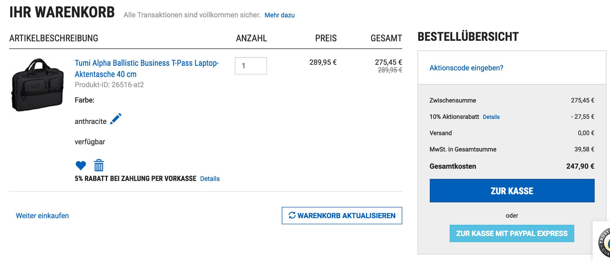 Mit Koffer-Direkt Gutschein 20% sparen - InsideFlyer DE