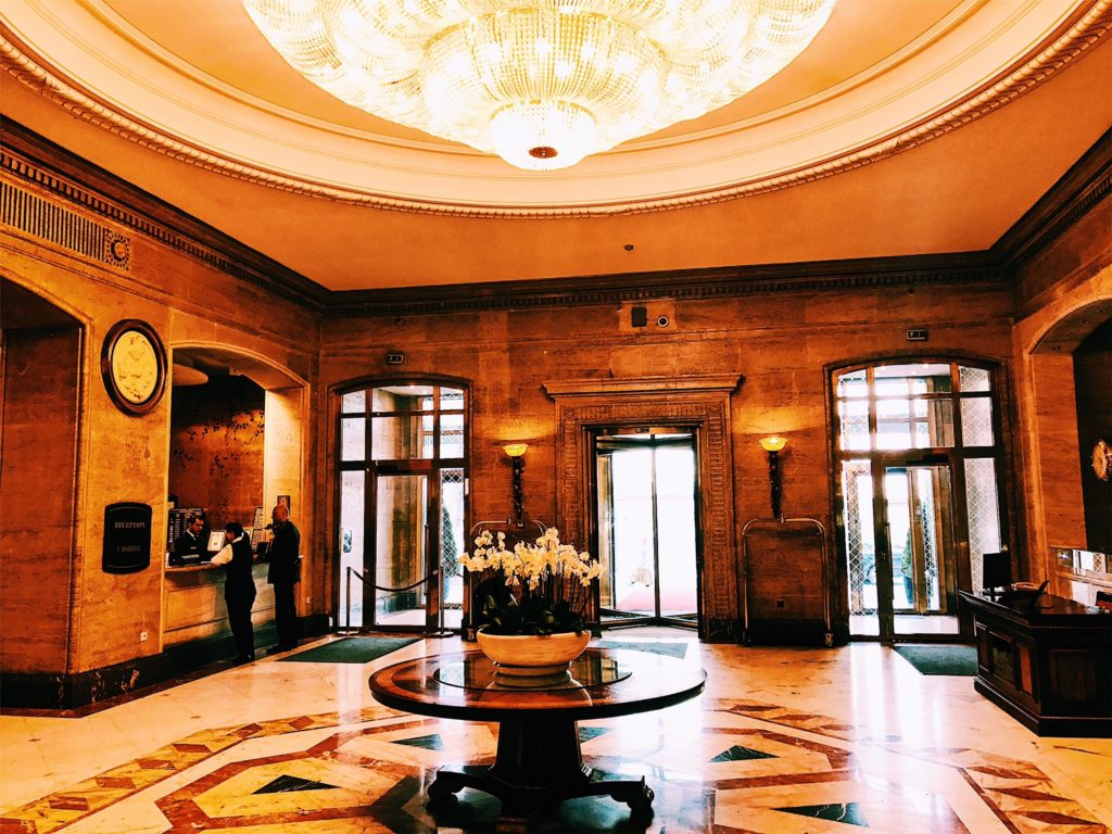 Sofia Hotel Balkan A Luxury Collection Hotel Lobby