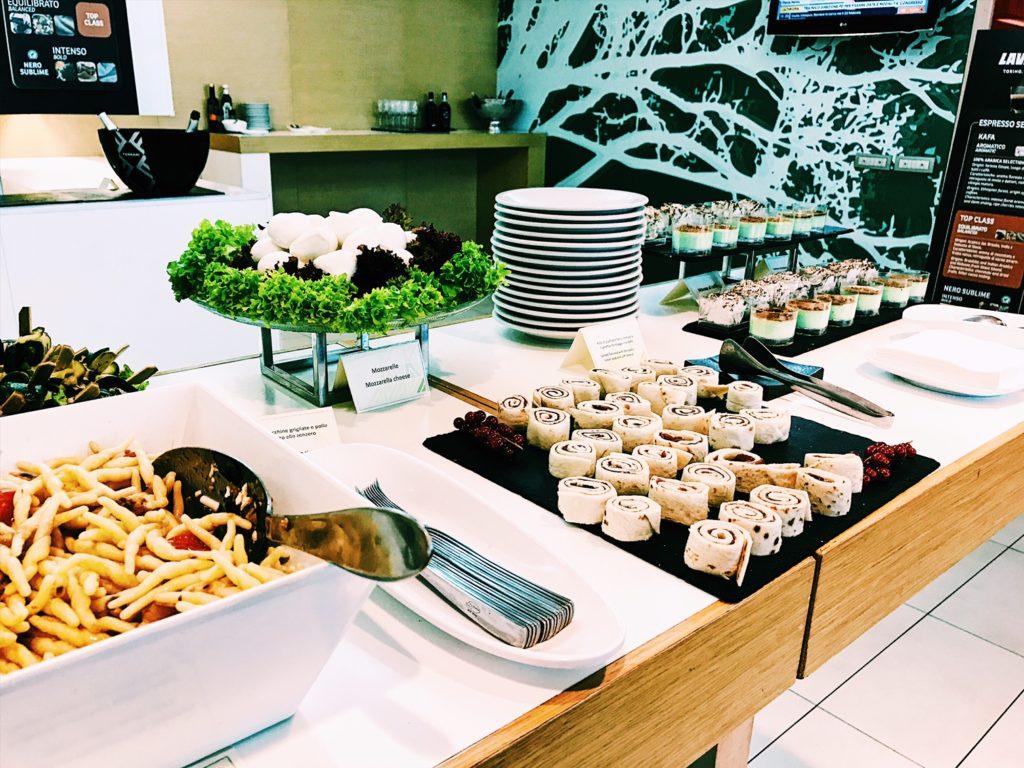Casa Alitalia Lounge Rom Terminal 3 Catering