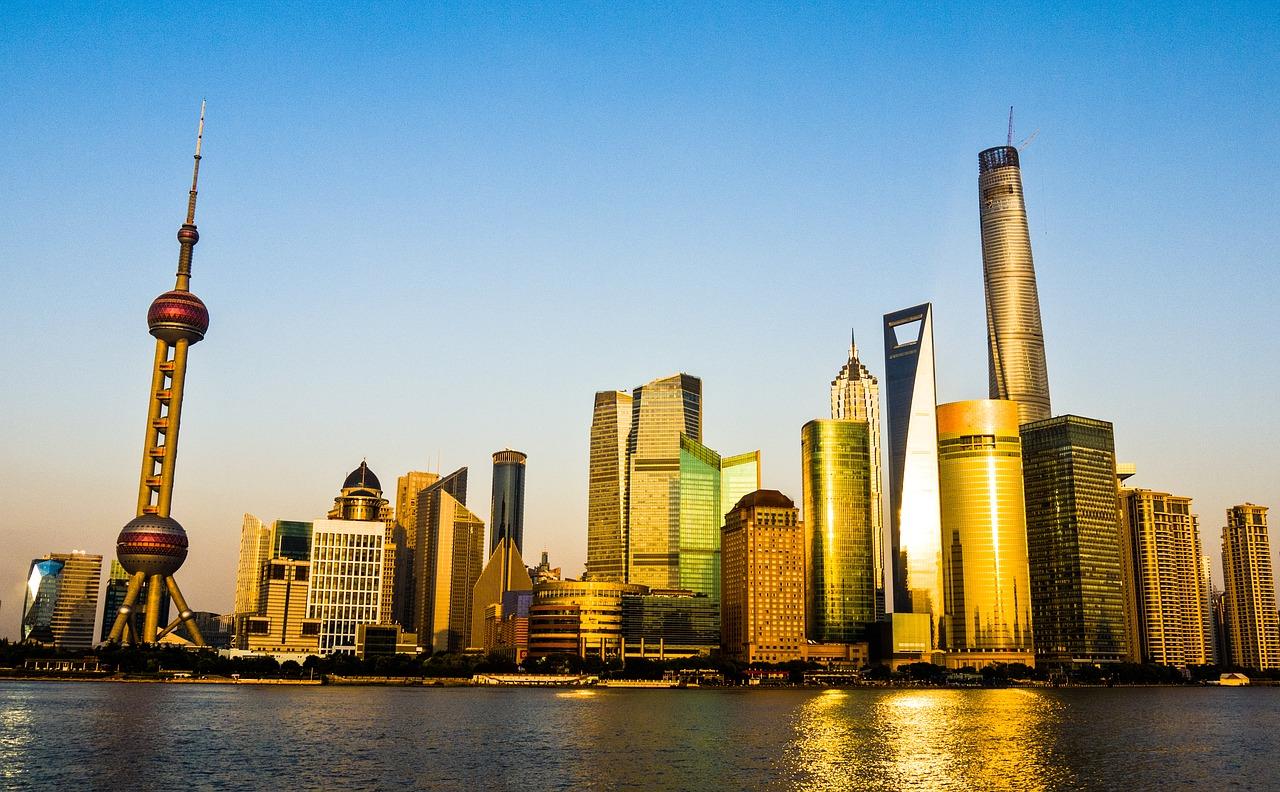 Business Class nach Shanghai